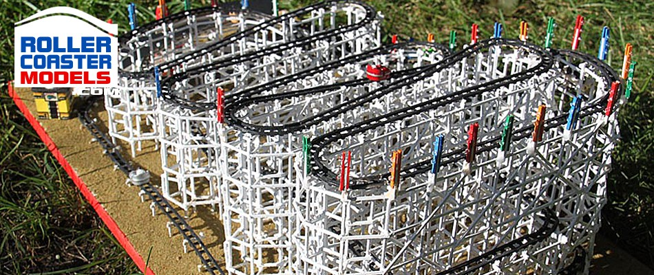 Wooden Wild Mouse - Palisades Amusement Park