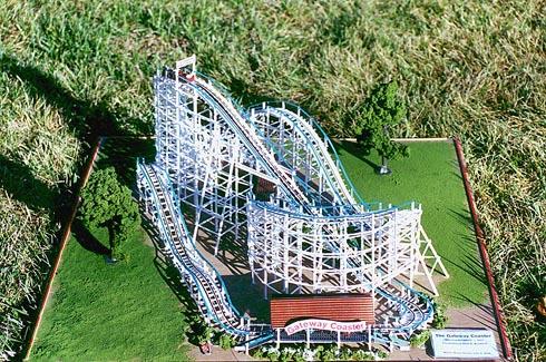 coaster dynamics   original scorpion roller coaster